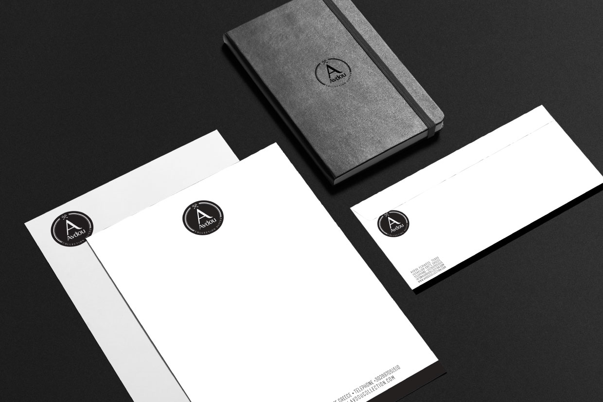 Avdou Collection Suites branding