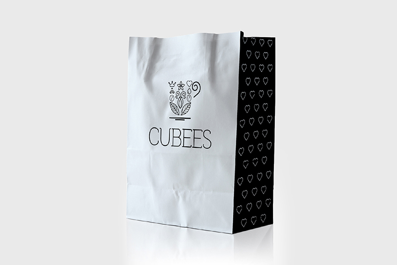 Cubees promotion bag