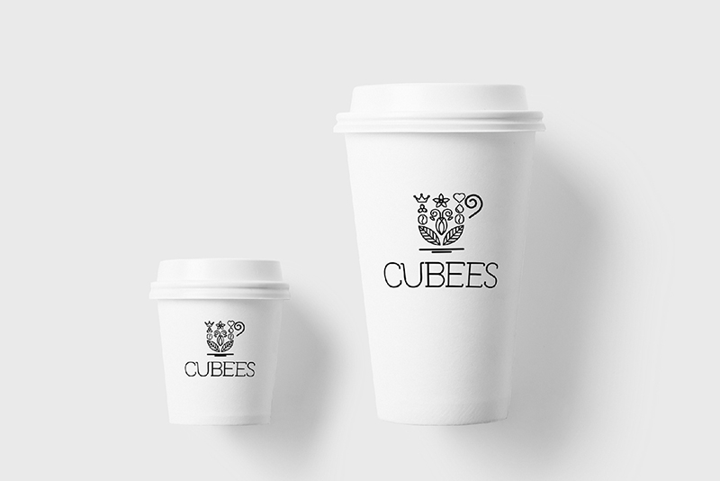 Cubees pet cups