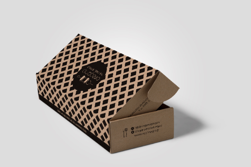 Oregano The Grill Project paper packaging